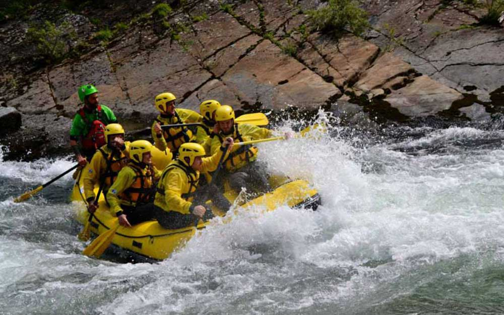 Rafting on Brembo River - BergamoXP