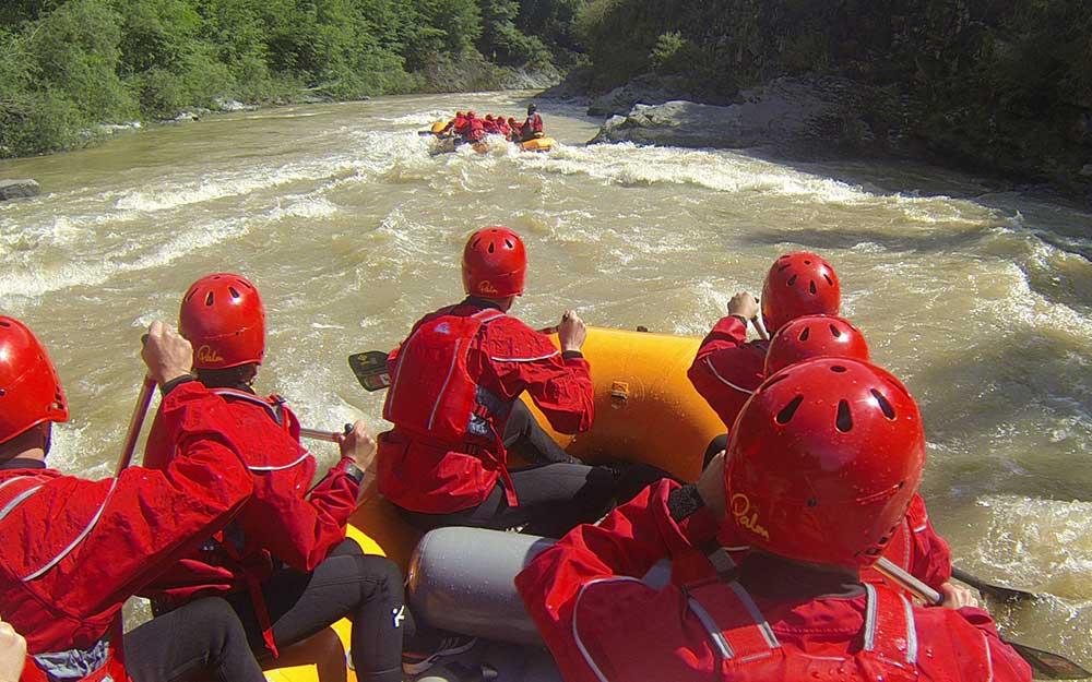 Rafting sul fiume Brembo - BergamoXP
