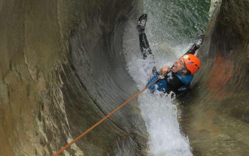 Canyoning in Guerna - BergamoXP