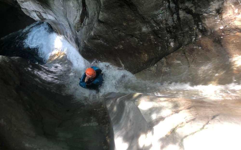 Canyoning sul Guerna - BergamoXP