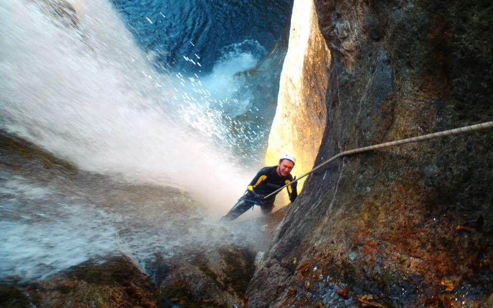 Canyoning a Fiumenero - BergamoXP