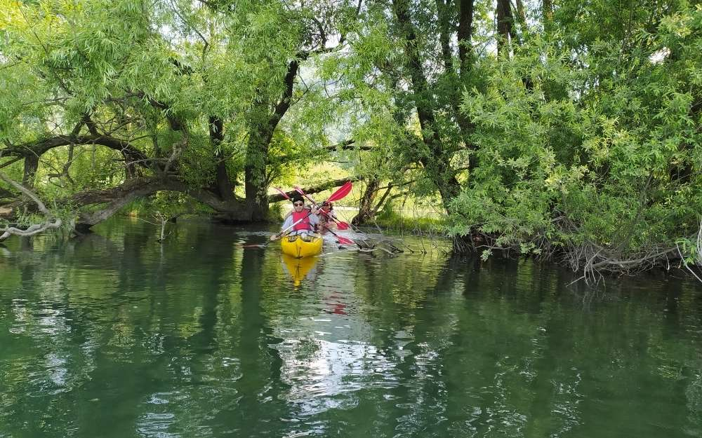 Kayak on Adda River - BergamoXP