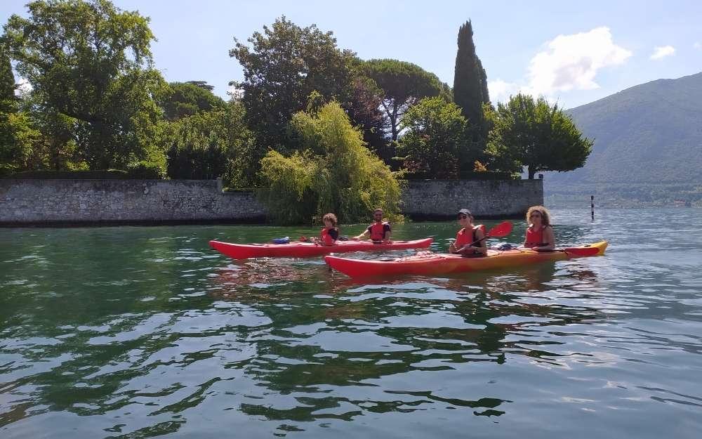 Kayak a Monte Isola - BergamoXP