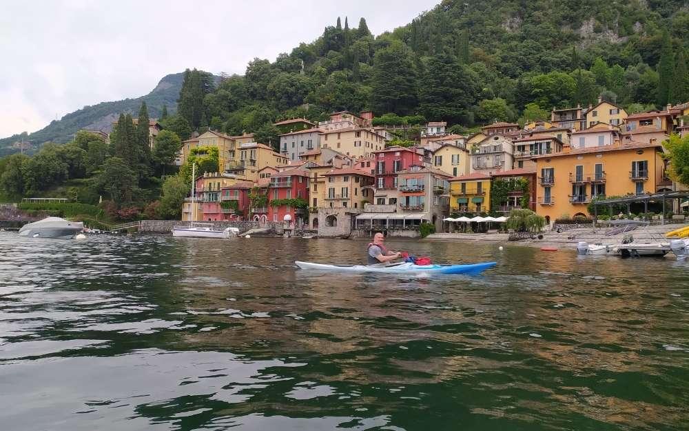 Kayak trip to Varenna - BergamoXP