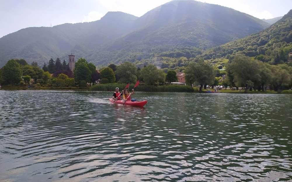 Kayak sul lago di Endine - BergamoXP