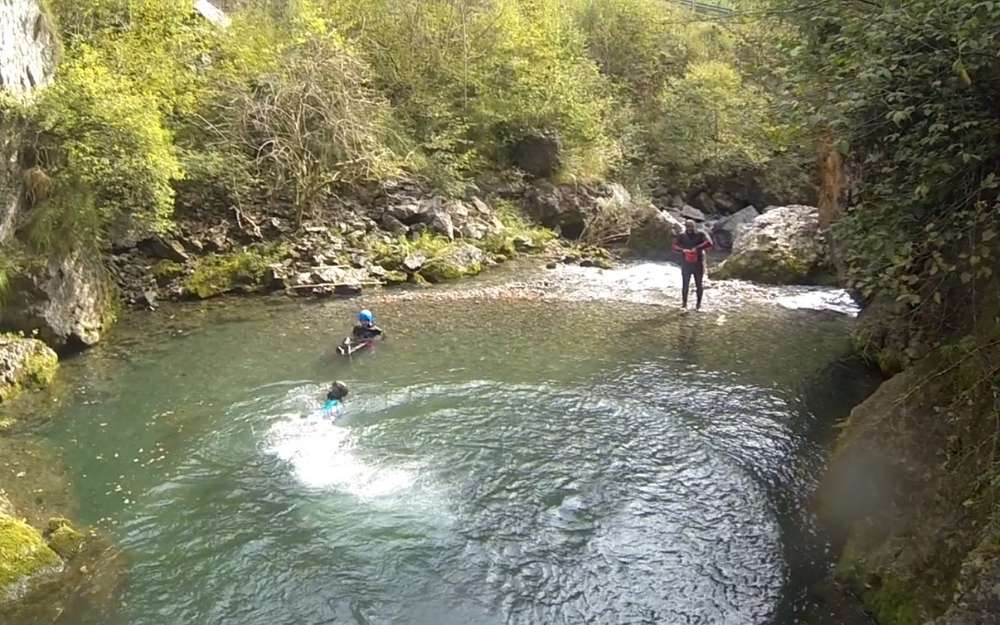 River Trekking in Brembana Valley - BergamoXP