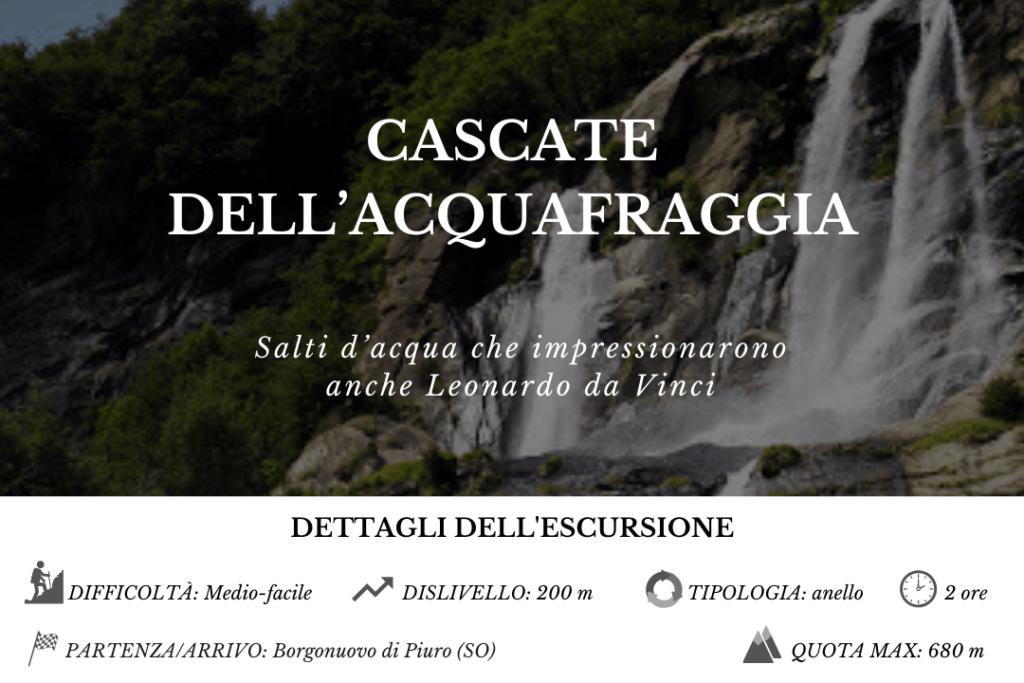 Cascate dell'Acquafraggia - BergamoXP
