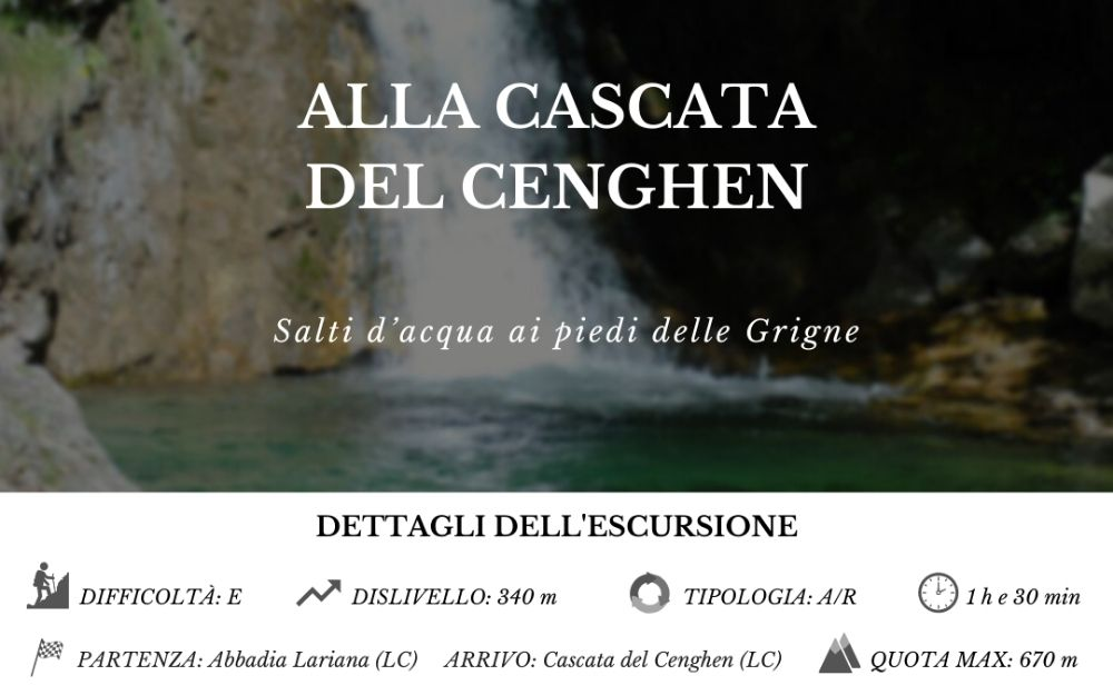 Cascata del Cenghen - BergamoXP
