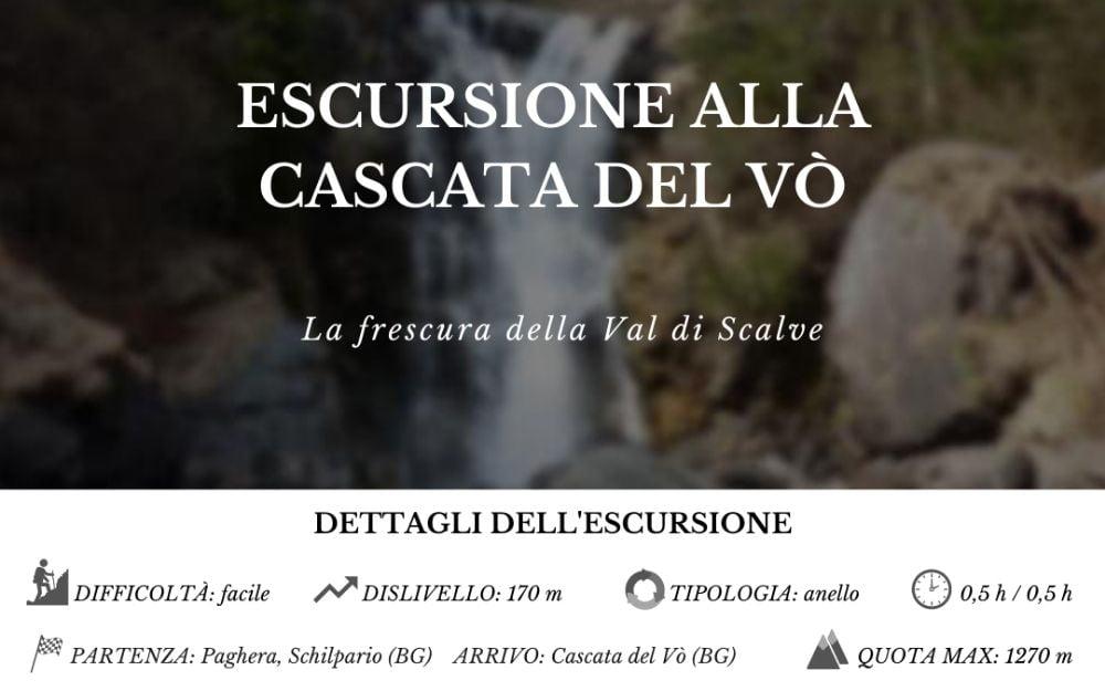 Cascata del Vò - BergamoXP