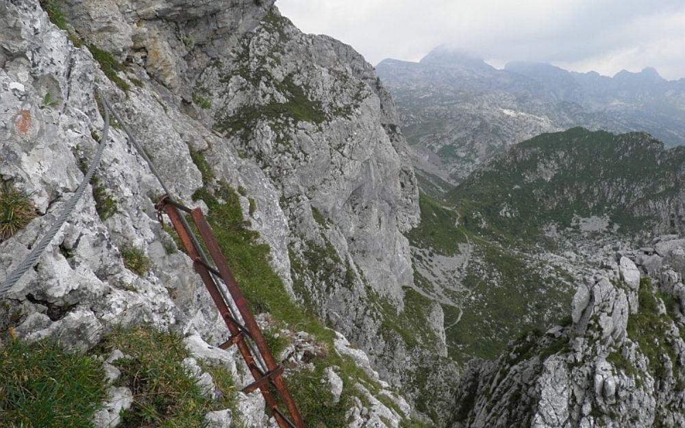 Ferrata della Porta in Presolana - BergamoXP