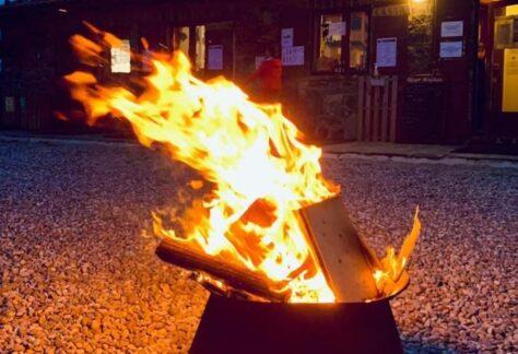 La notte delle Leggende intorno al fuoco - BergamoXP